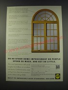 1991 Pella Windows and Doors Ad - On no other home improvement do people spend