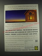 1991 Pella Architect Series Windows Ad - Influenced by Christopher Wren