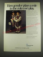1991 Southwestern Bell Smithsonian World on PBS Ad - How gender plays a role