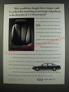 1991 Infiniti Q45 Car Ad - Who would have thought driver fatigue coud be reduced