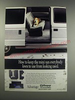 1991 Mopar Accessories Ad - How to keep the mini van everybody loves to use