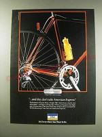 1991 VISA Card Ad - Performance Bicycle Shop
