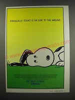 1991 MetLife Insurance Ad - Snoopy from the Peanuts