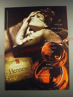 1991 Hennessy Cognac Ad - If you've ever been warmed by the winters sun