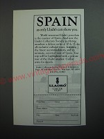 1989 Lladro Collectors Society Ad - Spain as only Lladro can show you