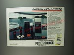 1991 Pittsburgh Corning PC GlassBlock Ad - Add style, light Livability