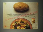 1991 Kraft Cheez Whiz Ad - For a quick, yet attractive makeover, simply apply