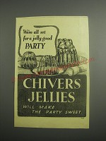1948 Chivers Jellies Ad - We're all set for a jolly good party