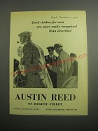 1948 Austin Reed Clothes Ad - Good clothes for men are more easily recognised