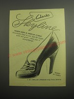 1948 Clarks Skyline Revere Shoes Ad