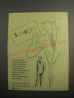 1948 Simpson Daks 2-piece suit Ad - Grand to relax in