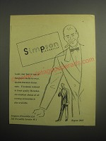 1948 Simpson Double-breasted dinner Suits Ad - Look your best