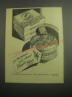 1948 Player's Navy Cut Cigarettes & Tobacco Ad - For the present - and always