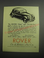 1948 Rover Cars Ad - The Rover Sixty and Seventy-Five