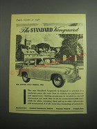1948 Standard Vanguard Car Ad - The Standard Vanguard For Export Only