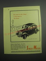 1948 Singer Super Ten Saloon Ad - The man in the Singer is the man in the know
