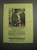 1948 Whitbread Ale and Stout Ad - Louis Pasteur 1822-95 probed the secret