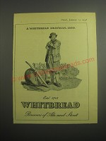 1948 Whitbread Ale and Stout Ad - A Whitbread Drayman, 1800