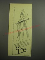1948 Goya Gardenia Perfume Ad - atmosphere of Goya