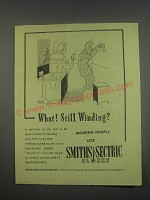 1949 Smiths Sectric Clocks Ad