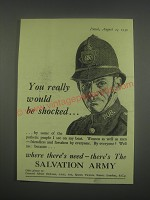 1949 Salvation Army Ad - You really would be shocked
