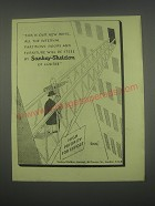 1949 Sankey-Sheldon Office Furniture Ad - This is our new wing