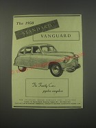 1949 Standard Vanguard Car Ad - The family car