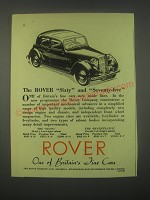 1949 Rover Cars Ad - The Rover Sixty and Seventy-Five