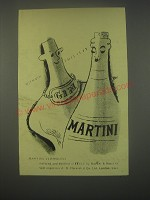 1949 Martini Vermouth Ad - With gin This is It