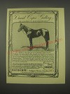 1949 David Cope Ltd.  Ad - Gallery of Famous Racehorses St. Amant (1901)