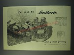 1949 Lentheric Three Musketeers Ad -  After Shave, Scalp Stimulant, Cologne
