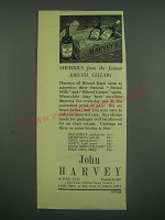 1949 Harvey's Sherry Ad - Sherrie's from the famous Bristol cellars