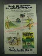 1991 Miracle-Gro No-Clog-2 Ad - Miracle-Gro introduces the perfect gardening tool