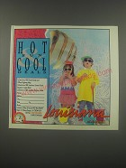 1991 Louisiana Tourism Ad - Hot Fun & Cool Deals