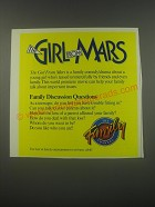 1991 The Family Channel Ad - The Girl from Mars
