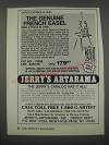 1991 Jerry's Artarama Ad - Offer expires 6/15/91 The genuine french easel made in France by Julian