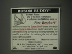 1991 B&B Company Bosom Buddy Ad - One of Most Comfortable Prostheses