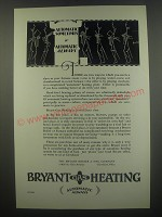1929 Bryant Gas Heating Ad - Automatic sometimes or Automatic always