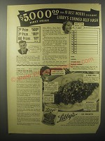 1940 Libby's Corned Beef Hash Ad - $5,000.00 for 10 best words