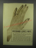 1937 Lever Brothers Lux Soap Ad - Husband loves wife
