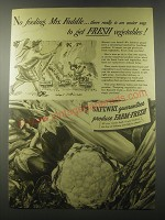 1941 Safeway Produce Ad - No fooling, Mrs. Faddle