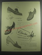 1953 Clarks Shoes Advertisement - Brecon, Chiltern, Teramo, Padua