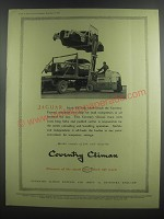 1953 Coventry Climax Fork Lift Trucks Ad - Jaguar Mark VII body shells reach