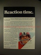 1971 Army ROTC Ad, w/ Harmon Wages - Reaction Time!!