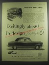 1953 Ford Zephyr 6 Cars Ad - Victory at Monte Carlo