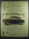 1953 Ford Zephyr 6 Cars Ad - The Zephyr 6 is an exciting car