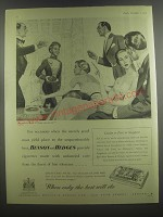 1953 Benson and Hedges Super Virginia Cigarettes Ad - For occasions