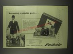 1953 Lentheric Huntsman gift pack Ad - Presenting a popular pack