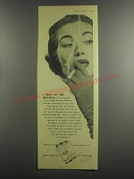 1953 Sobranie Cigarettes Ad - Now for the speeches