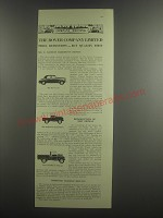 1953 Rover Car, Land-Rover and Land-Rover Pick-up Ad - The Rover Company